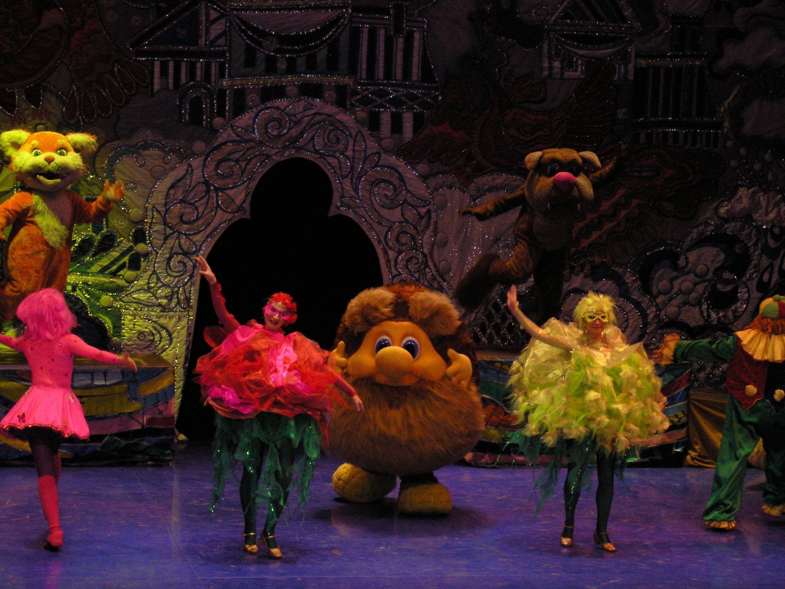 Новый год в театре кадышевой